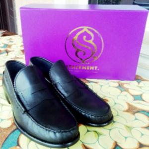 Penny loafers by statemen luxury bespoke