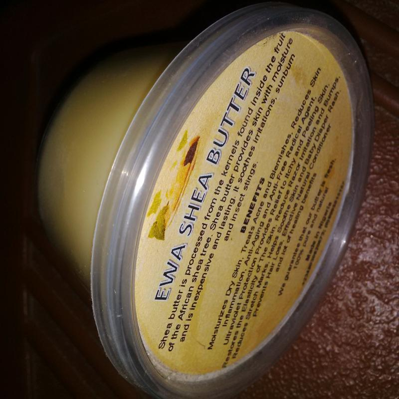 Ewa Shea Butter, 100% Pure and Natural
