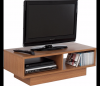 Television stand with oak effect