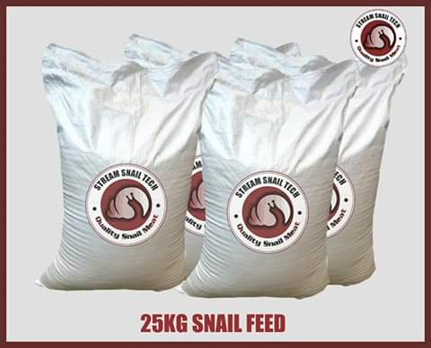 Snail feed, Grasscutter feed and Rabbit feed